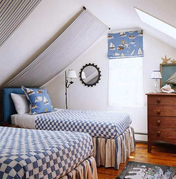 Gary Mcbournie S Nantucket Beach Cottage: Gary McBournie Guest Bedroom Nantucket Traditional Home