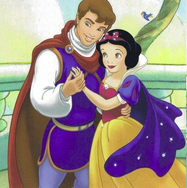 Florian Et Blanche Neige Dessin Blanche Neige Blanche Neige Couples Disney