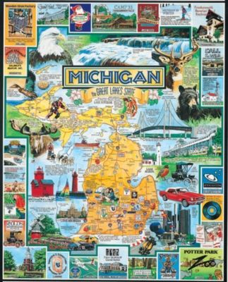 Jigsaw Puzzles - Best of Michigan