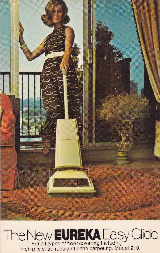Vacuuming Fashion Sixties Style Because It S Important