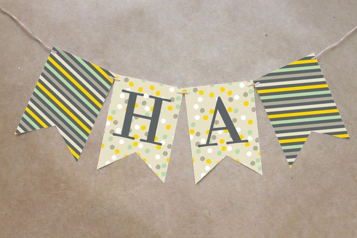 Animals Born Free Bunting Banners