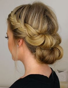 Inspiring Beautiful Cover French Braided With Half Bun 2015