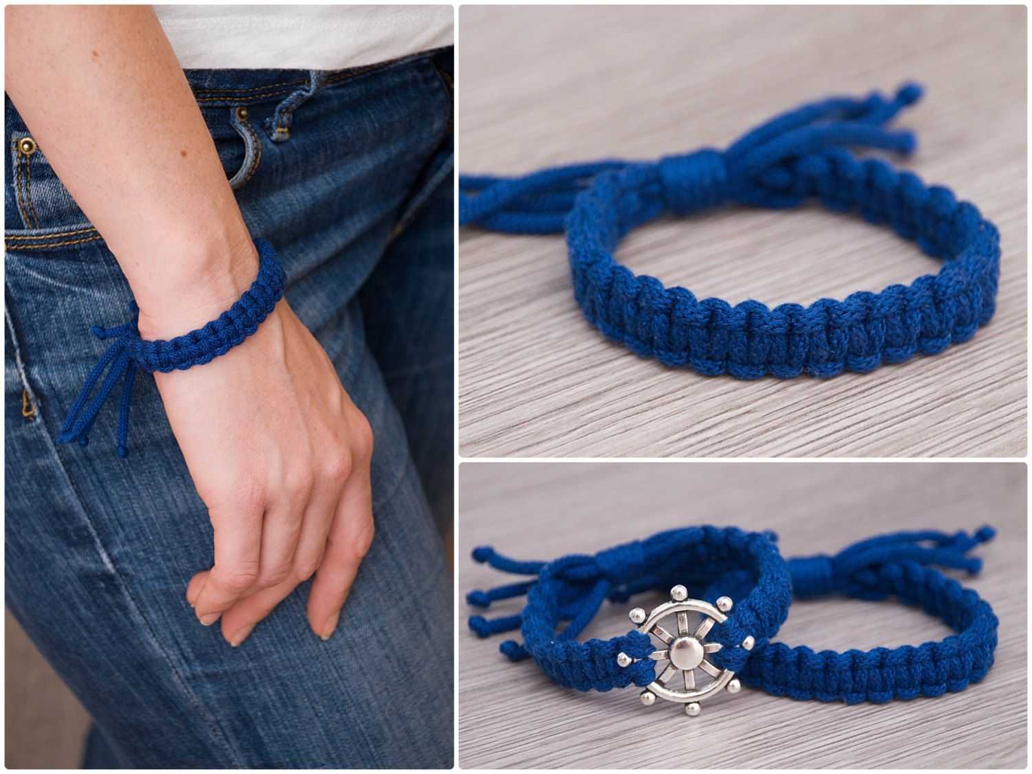 Blue braided adjustable bracelet Friendship cotton knitted bracelet Macrame bracelet Christmas gift Eco-friendly rope bracelet friendship bracelet adjustable bracelet Macrame bracelet Cotton knit bracelet Christmas gift Eco friendly rope bracelet Minimalist Bracelet natural bracelet colorful bracelet simple bracelets stackable bracelets blue bracelet 9.00 USD #goriani