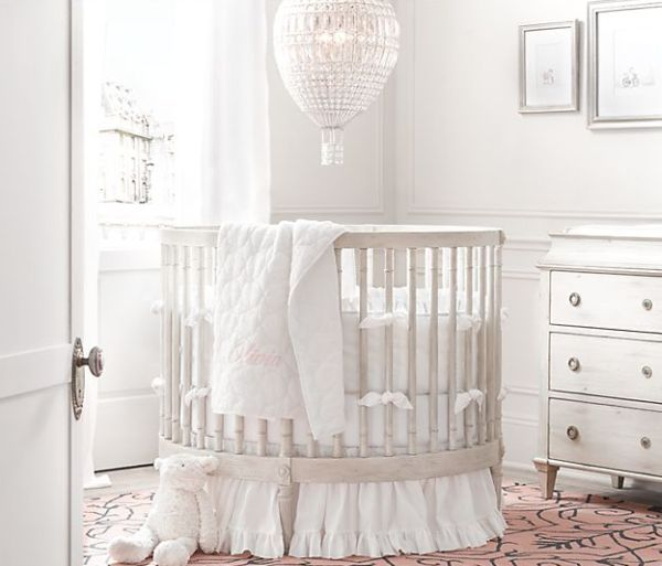 26 Round Baby Crib Designs For A Colorful And Cozy Nursery Round