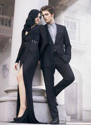Robert Pattinson and Kristen Stewart Hug It Out -