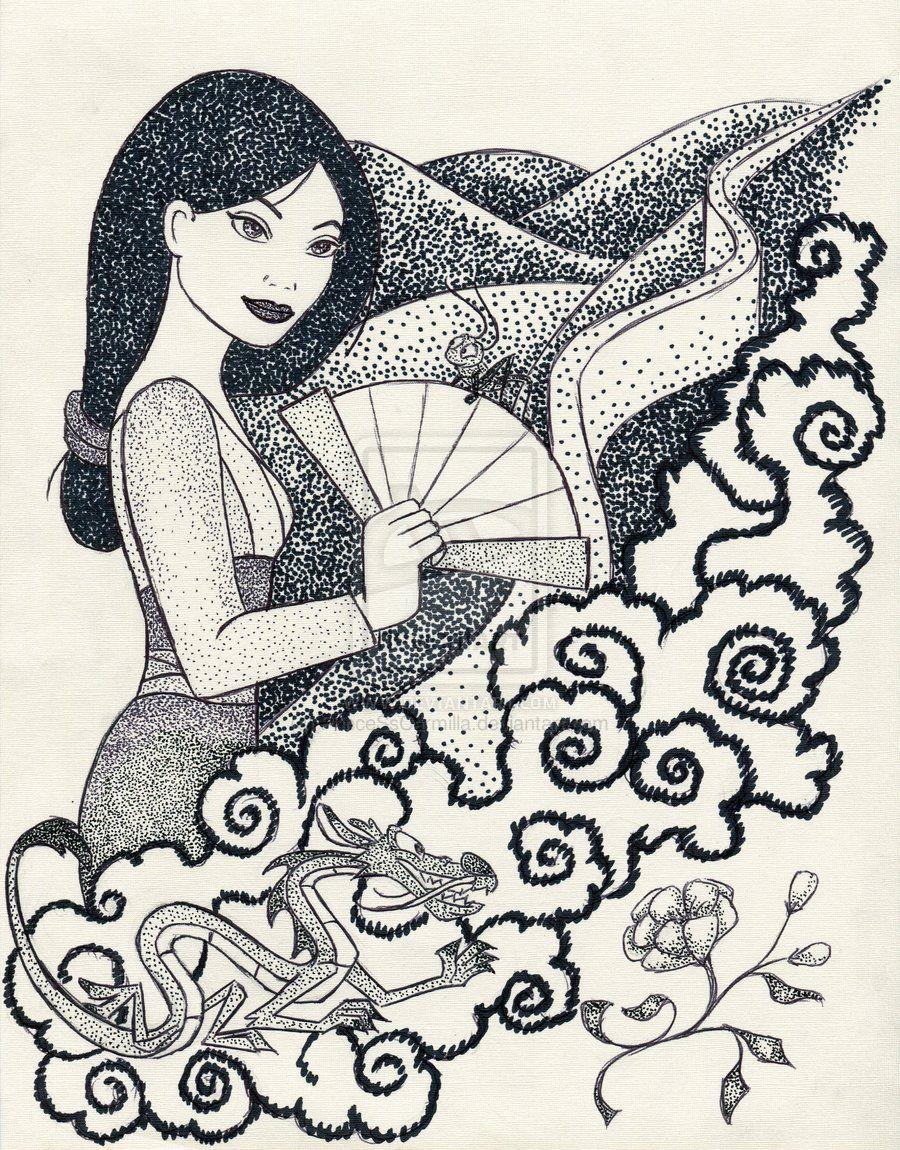 Iconic Mulan by ~PrinceSsCarmilla on deviantART