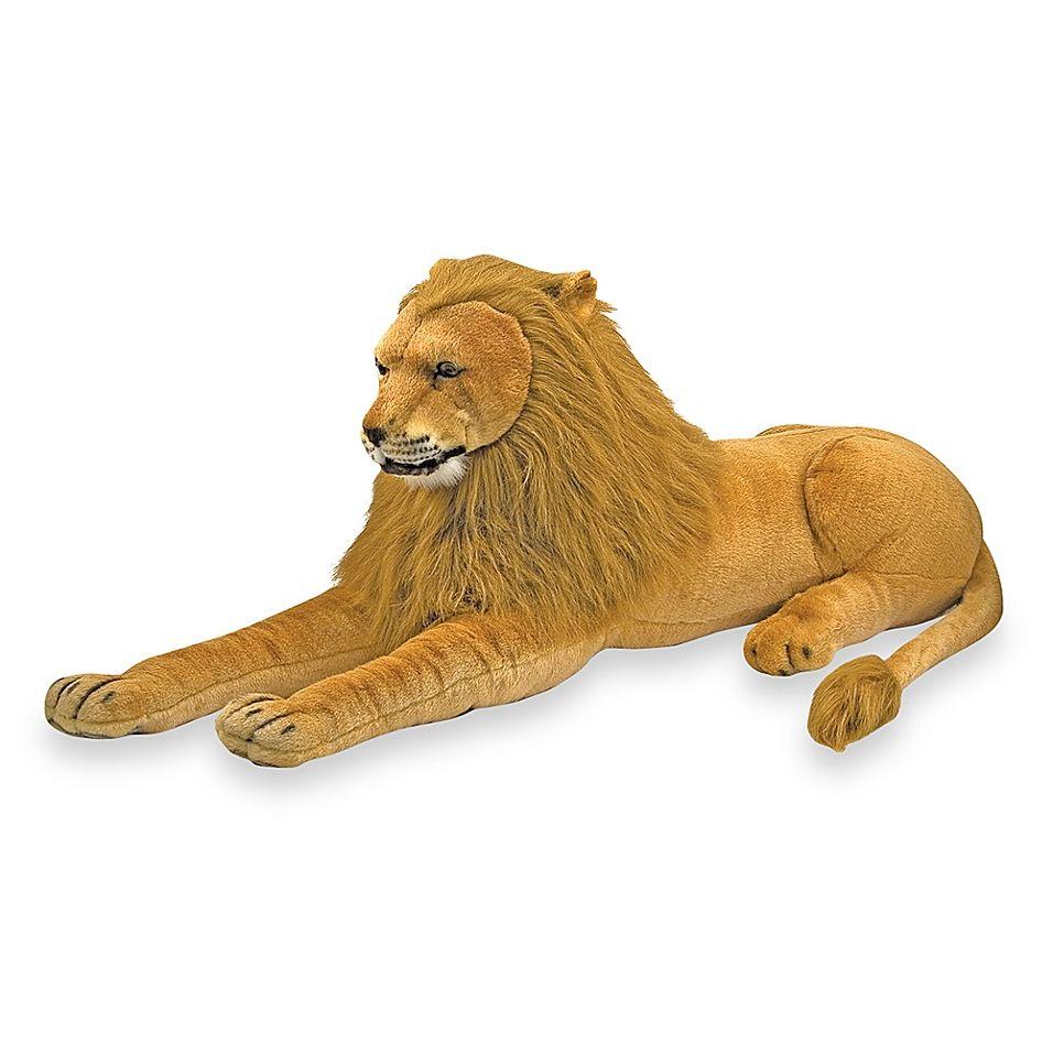Melissa Doug Plush Lion Golden Tan In 2020 Lion Toys Giant Stuffed Animals Plush Animals [ 956 x 956 Pixel ]