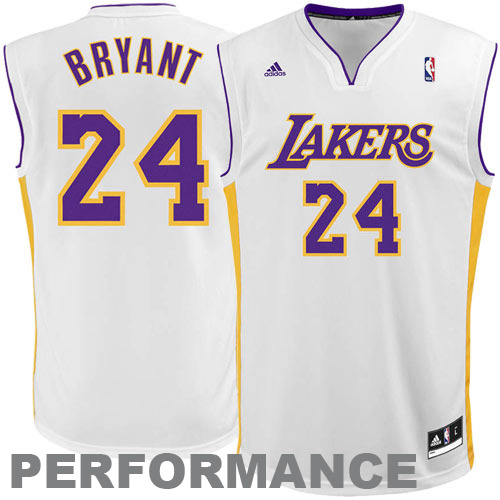 Adidas Kobe Bryant Los Angeles Lakers Youth Revolution 30 Alternate Jersey White 49 95 Kobe Bryant Los Angeles Los Angeles Lakers Sport Fitness