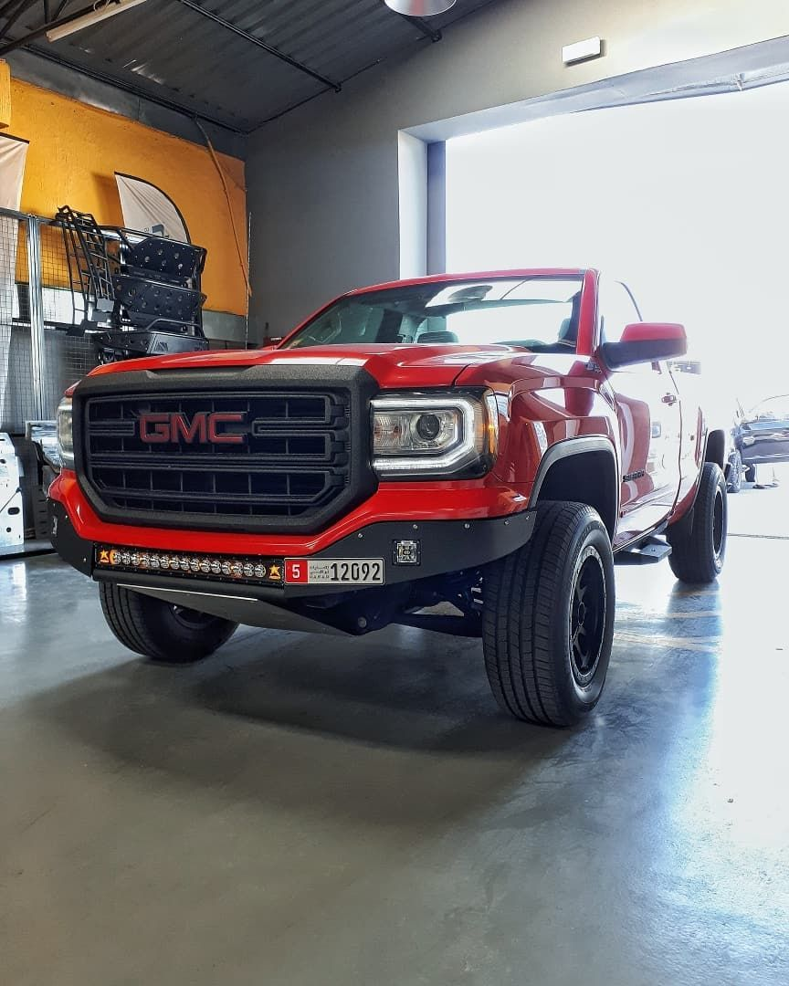 Titan Performance Uae On Instagram Gmc Sierra Got A Custom Tp