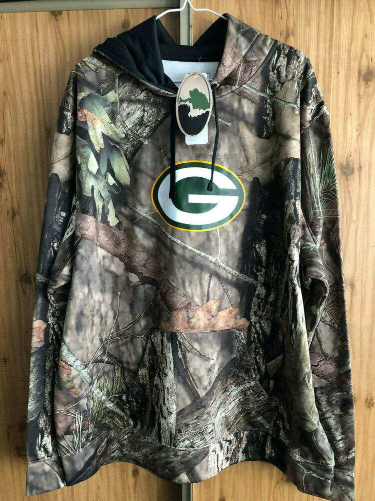 release date 0a908 091e8 Details about NEW NFL Seattle Seahawks Mossy Oak Camo Pull ...