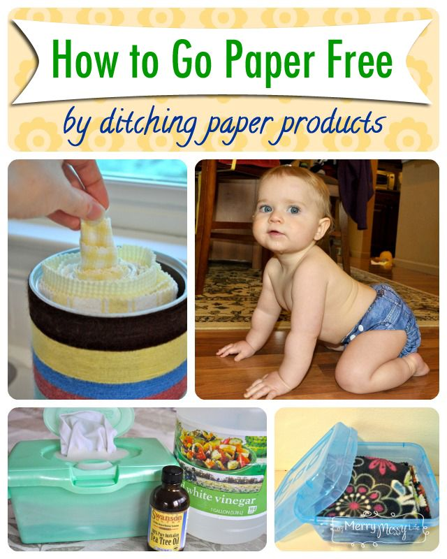 How To Ditch Paper Products and Go Paper Free | Paper products ...