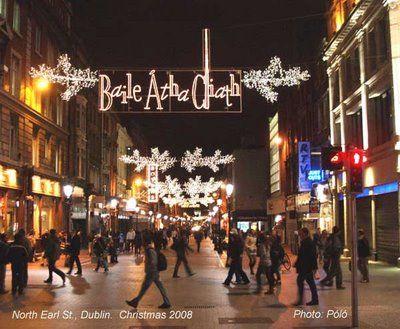 Christmas In Dublin Ireland.Christmas In Dublin Christmas Cheer Traditions
