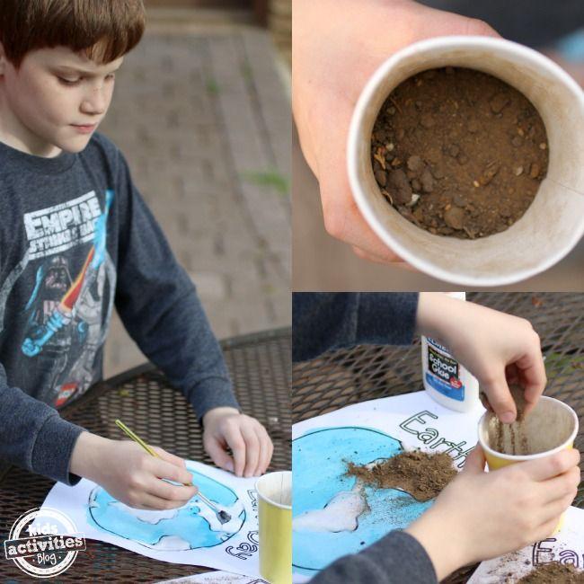 Earth Day Crafts for Kids  Giorno della terra Artigianato e Attivit