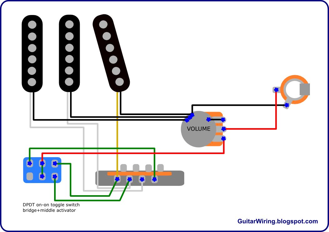 Fender B Wiring Diagram