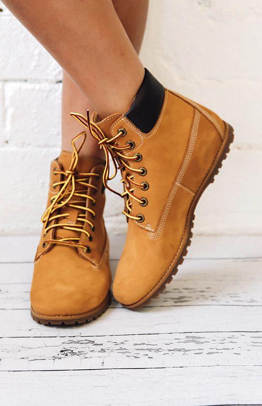 Timberland Women S Joslin 6 Inch Boots Wheat Nubuck From