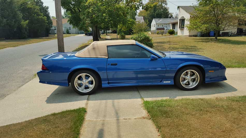 1992 Chevrolet Camaro Z28 Heritage Edition Convertible For