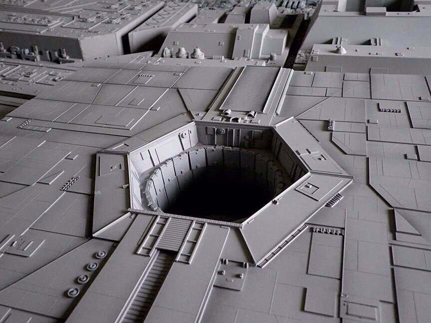'A small thermal exhaust port, right below the main port'
