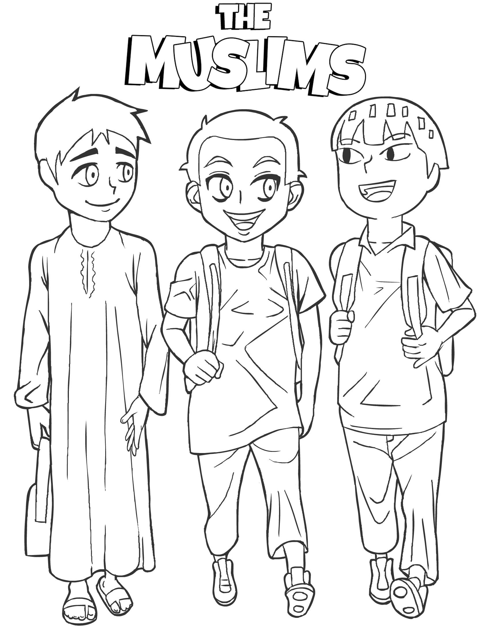 kids islam coloring pages - photo#18