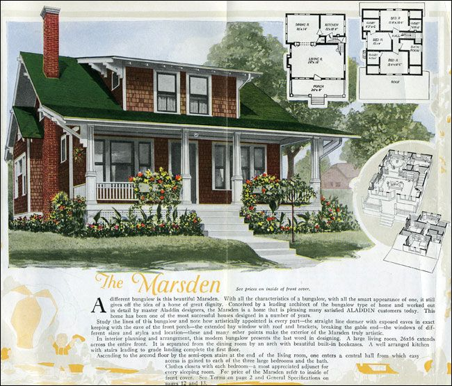 The Marsden 1920 Aladdin Homes One Of The Many Desirable