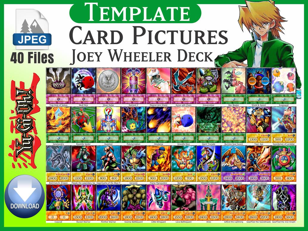 Joey Wheeler Deck 4kids Download 40 Card By Https Www Deviantart Com Carlos123321 On Deviantart Cards Deck Yugioh Decks