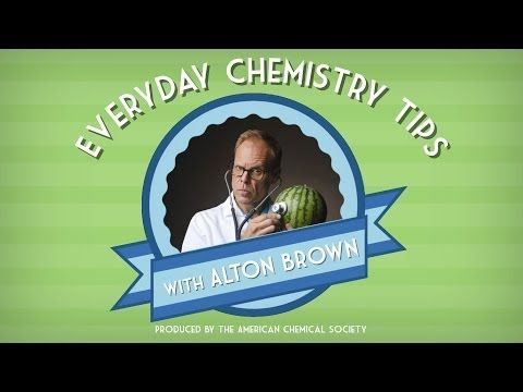 Everyday Chemistry Tips (featuring Alton Brown) - Bytesize Science