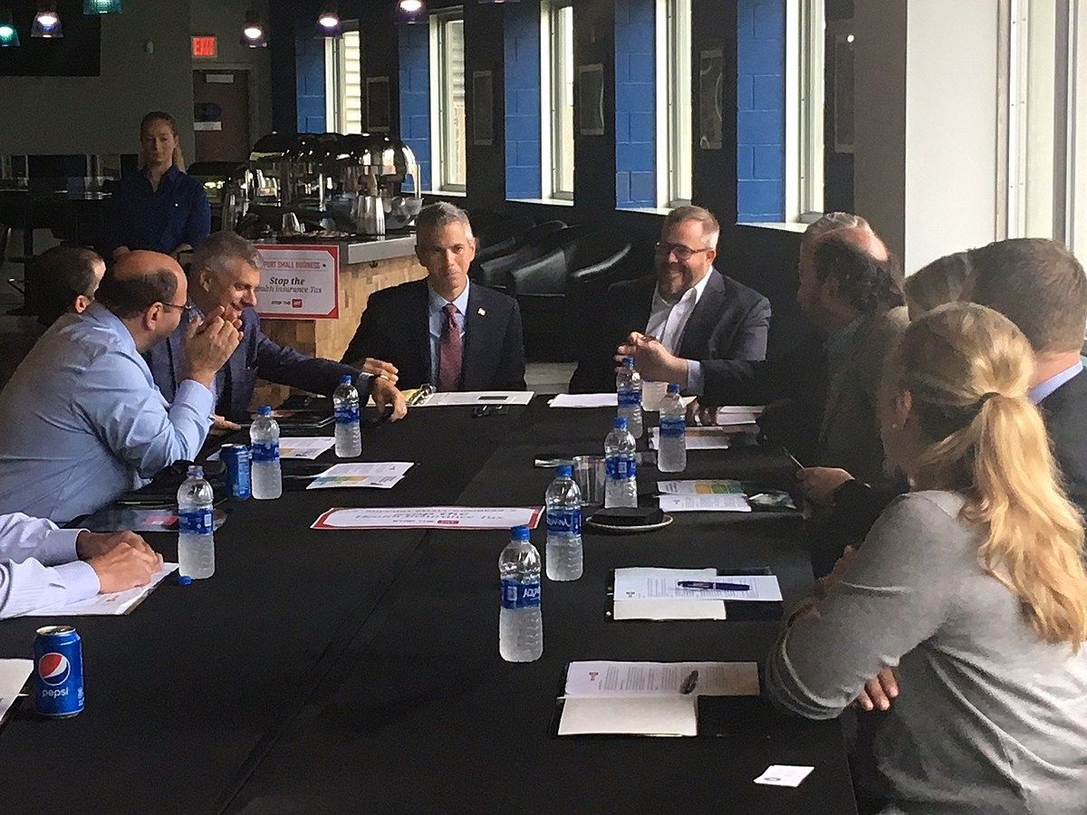 Congressman Anthony Brindisi Hosted A Health Insurance Roundtable