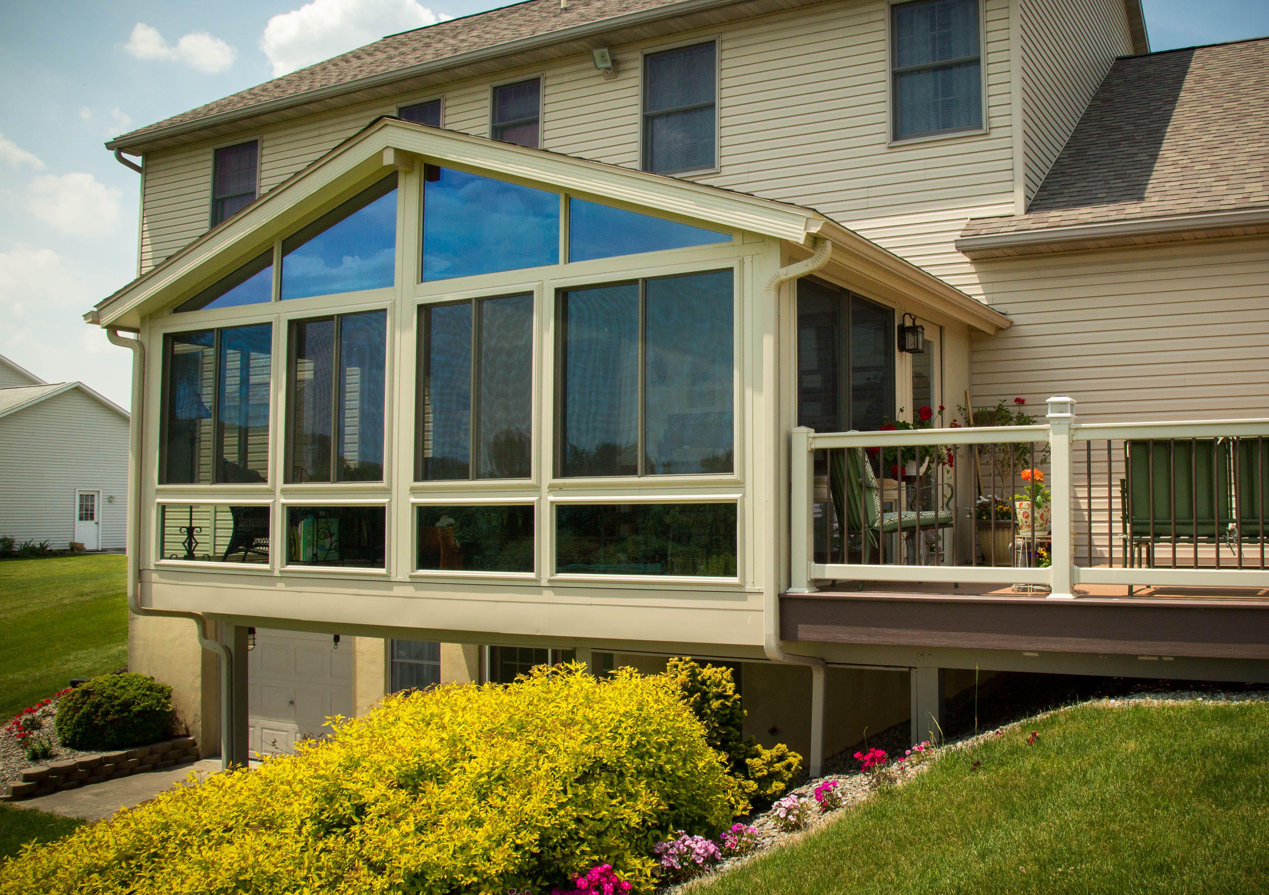 5 Window Options for Sunroom Additions Sunroom addition