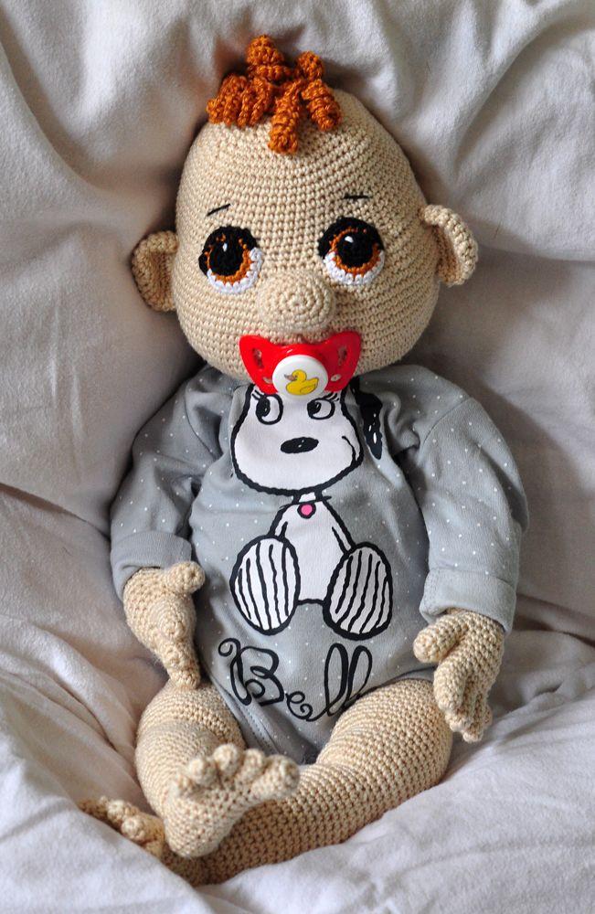 Häkelanleitung, DIY - Baby Quinny (50 cm) - Ebook, PDF | 1a ...