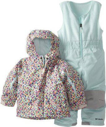 Columbia toddler snowsuit bib and jacket - size 2t | Oh Baby ...