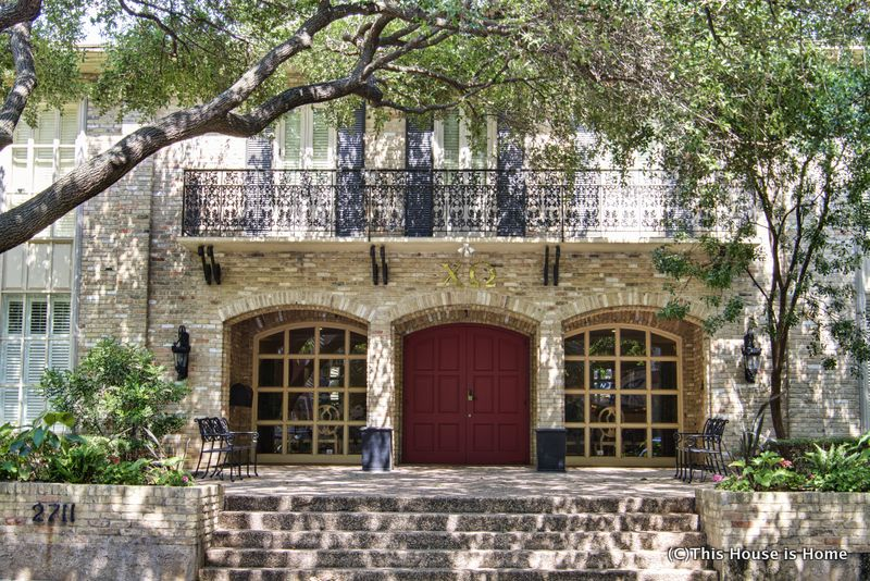 The Iota Chapter Of Chi Omega At University Texas In Austin