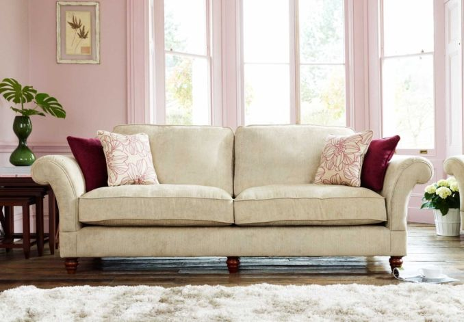 Furniture Village Hennessey Sofa 4 seater scatter back sofa - wellington - sofa sets | corner sofas