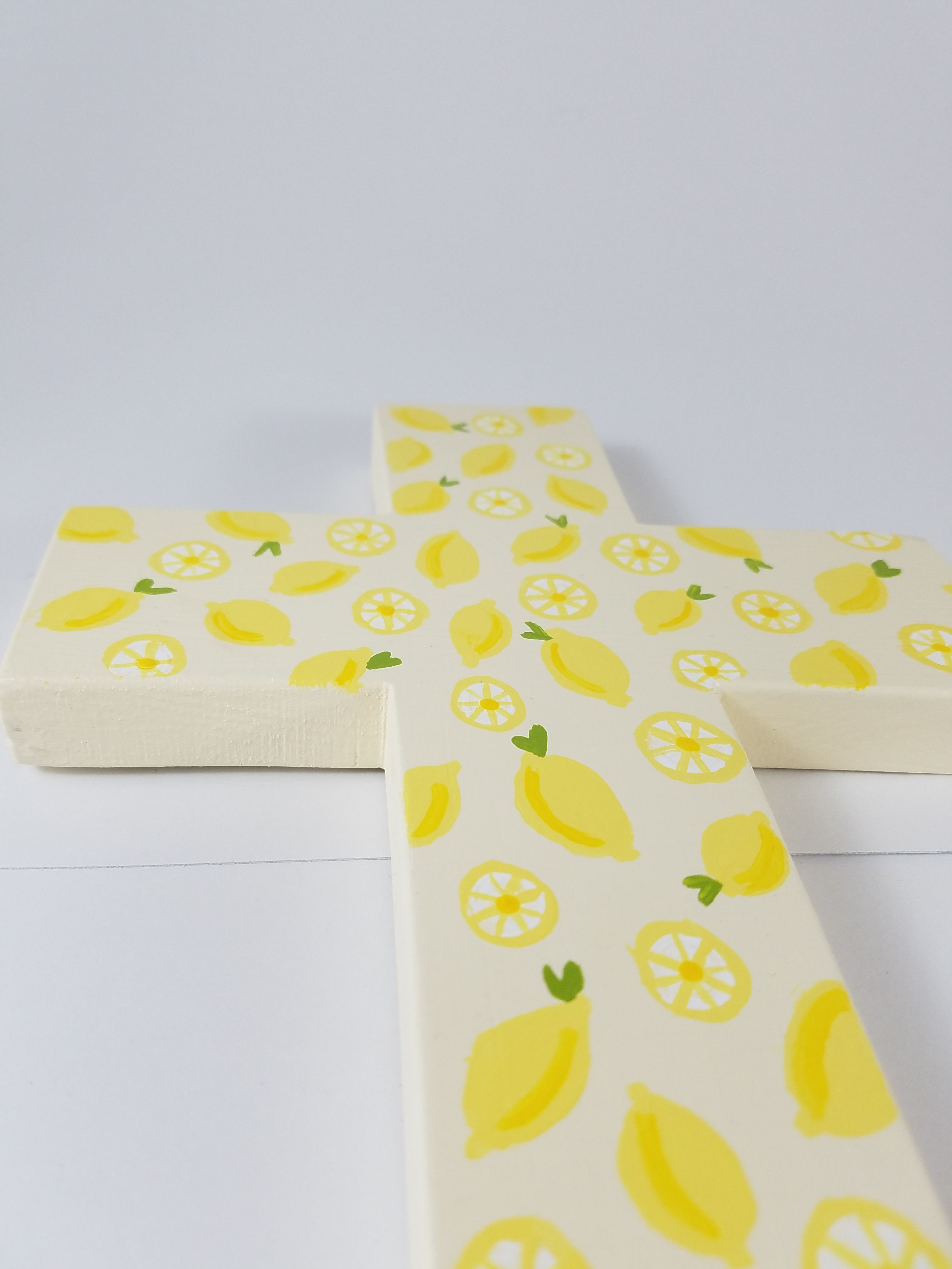 A bit of a background story behind my cross, Spanish Lace & Lemons ...