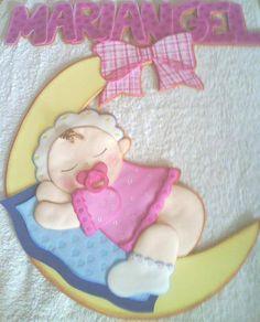resultado de imagen para carteles de bienvenida en goma eva para bebes
