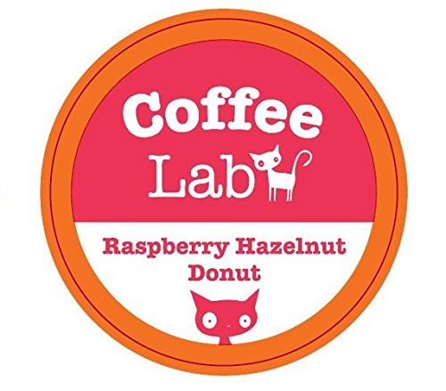 Coffee Lab - Flavored K Cup Coffee - Raspberry Hazelnut