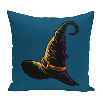 Witchcraft Holiday Print Throw Pillow | Wayfair