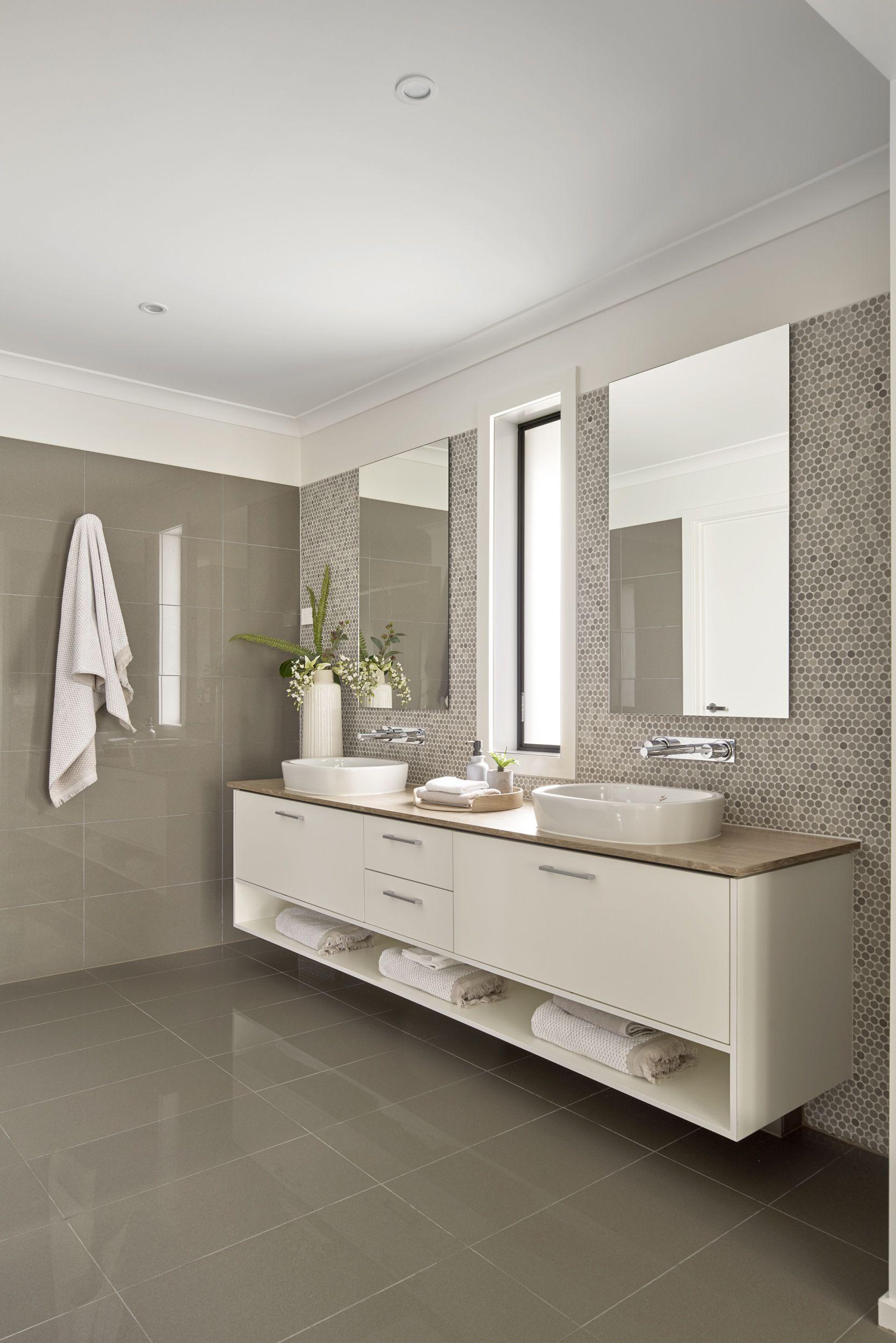 A Large Double Vanity With An Abundance Of Storage For The Salamanca Bathroom On Display In Ka In 2020 Double Vanity Bathroom Bathroom Vanity Designs Bathroom Vanity