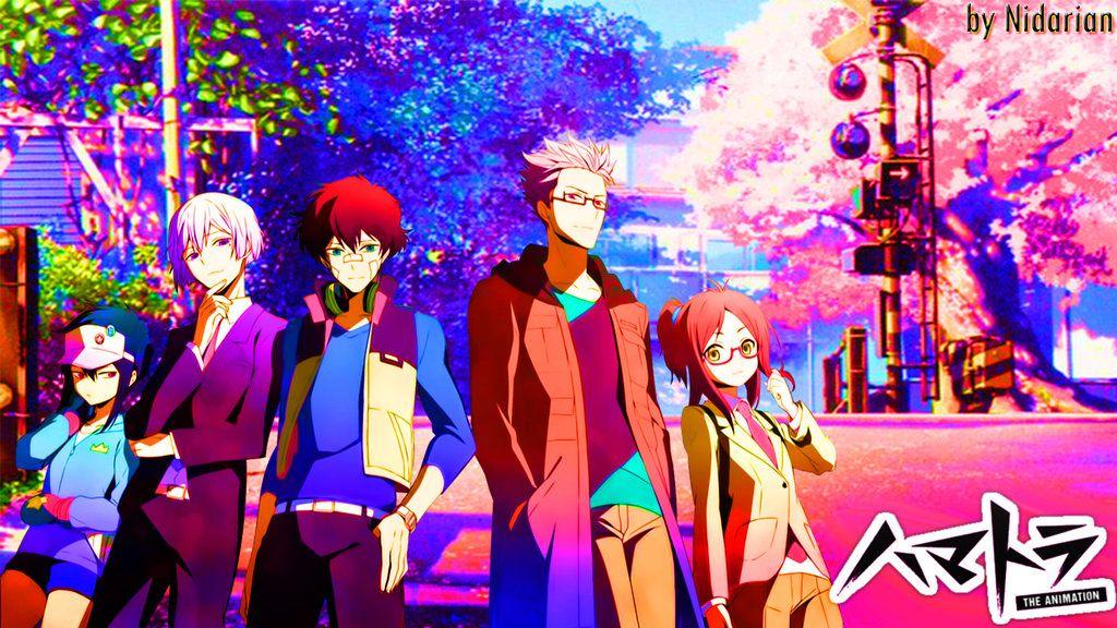 Hamatora Wallpaper By Nidarian On Deviantart Hamatora Anime Culture Art
