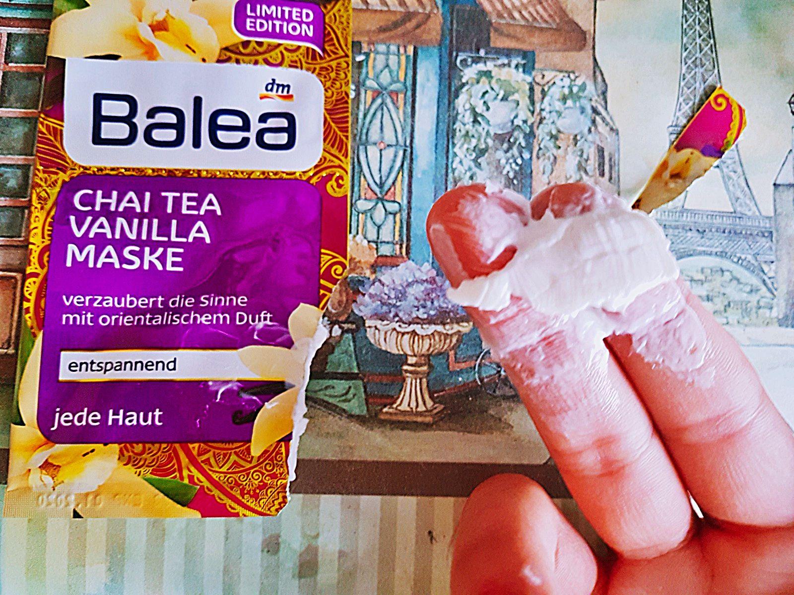 Balea Chai Tea Vanilla Maske von DM