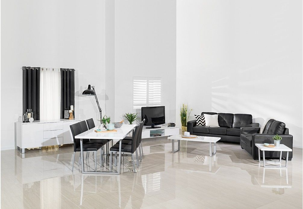 Classic, Simple, And Stylish, The Diamond 13 Piece Package Deal Is The  Ultimate Way To Furnish Your Entire Modern Living Space In One Quick And  Easy ...