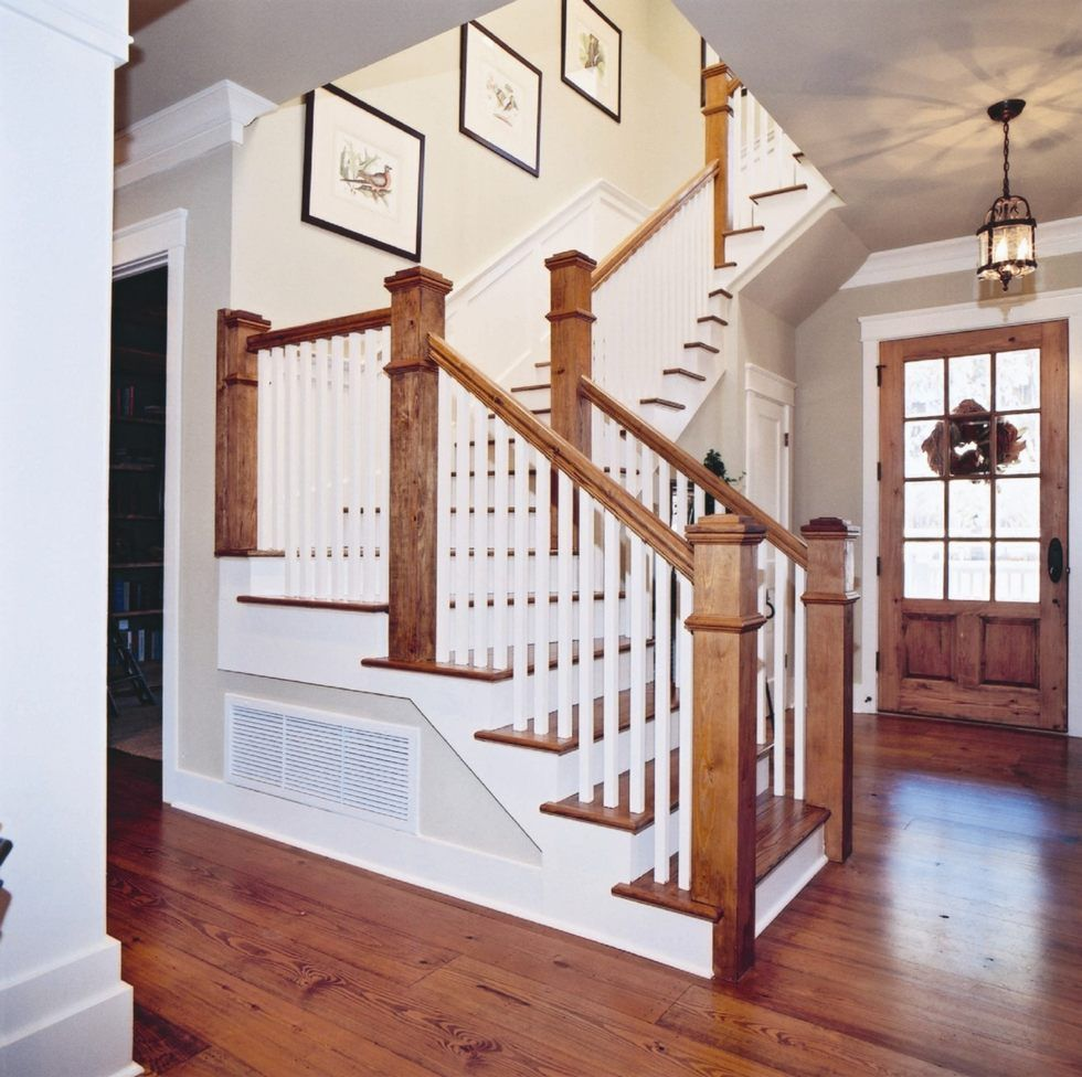 28 Best Stairway Decorating Ideas And Designs For 2019: Builder Model Home Kentucky