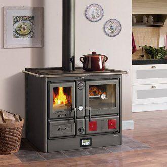 Wasserführender Küchenherd La Nordica Termo Rosa D.S.A -... | Wood ...