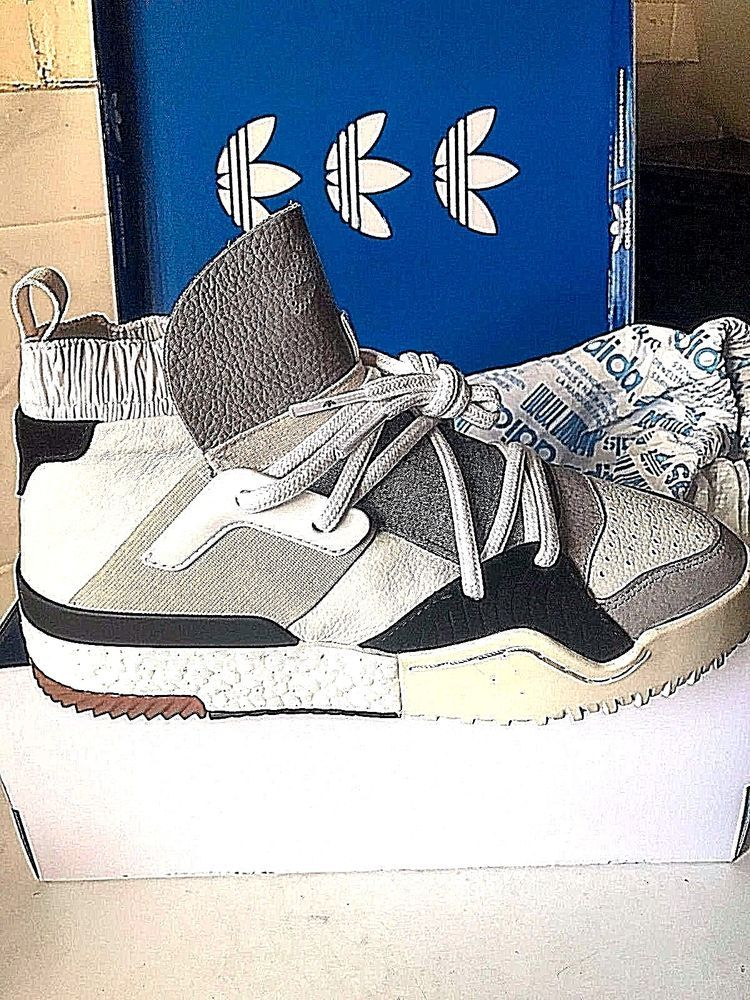 uk adidas x alexander wang wang wang aw bball Chaussures Blanc us 8 rare sold 7c0cd1
