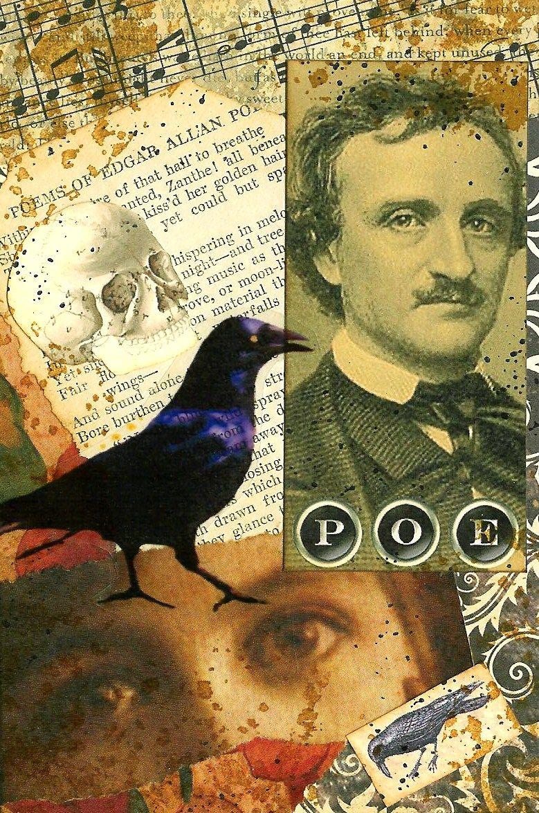 A Nostalgic Halloween: Sunday Postcard Art Challenge - Gothic