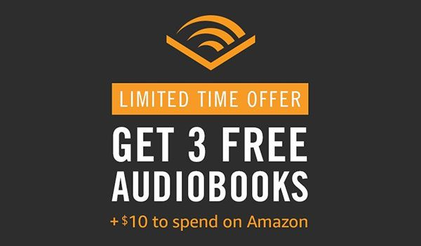 Free 10 Amazon Credit And 3 Month Audible Subscription Amazon