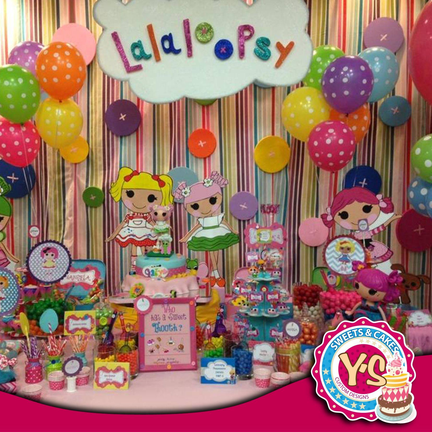 LALALOOPSY birthday party supplies beverage PAPER NAPKINS 16pcs  2-ply