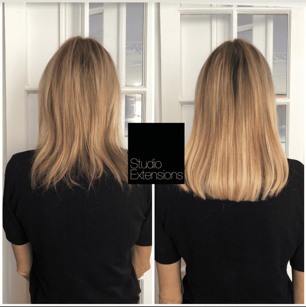 Exemple De Pose D Extensions Pour Cheveux Fins Extension Cheveux Avant Apres Extension Cheveux Cheveux Avant Apres
