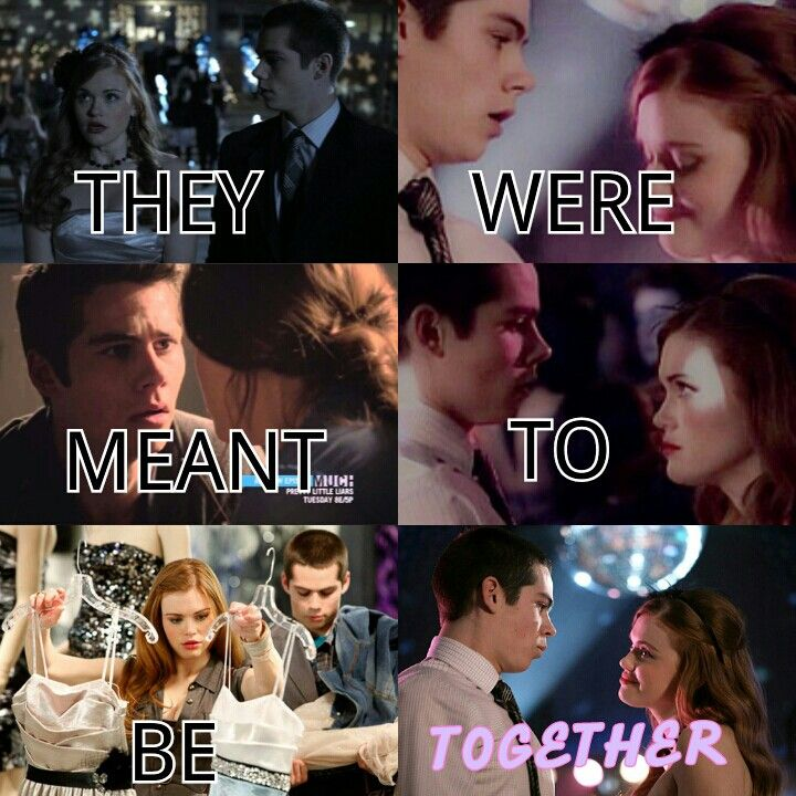 Stiles and lydia .uhmmm are meant to be