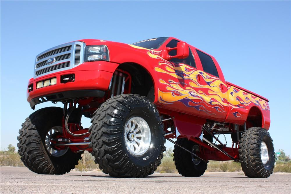 Ford F Monster Truck Monster Trucks Pinterest