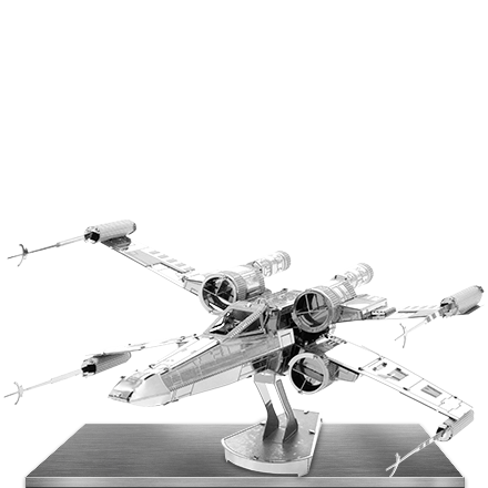 Xwing Star Fighter Metal Earth Metal Model Kits Starfighter