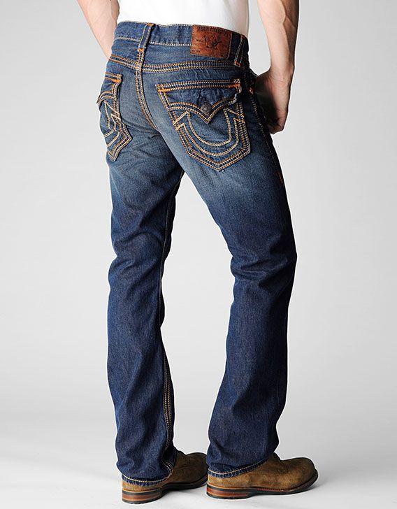 c5ce327c True Religion Brand Jeans, RICKY STRAIGHT RUST BROWN BIG QT MENS JEAN, old  firewood, Mens : Jeans : Straight Leg, MQ2859EG9AQQM $300